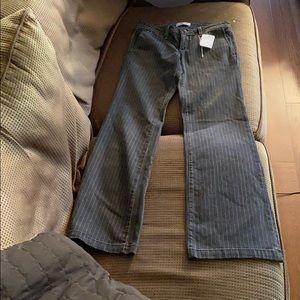 NWT Habitual striped jeans size 29 flare